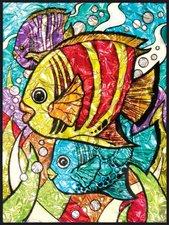 Royal & Langnickel Malen nach Zahlen Folien Tropische Fische