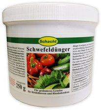 Schacht Schwefeldünger