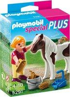Playmobil Special Plus - Mädchen beim Pony (5291)