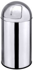 Contacto Push Abfallbehälter Edelstahl (40 L)