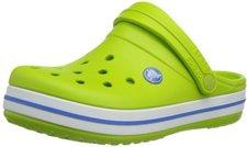 Crocs Kids Crocband volt green/varsity blue