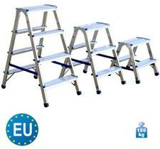 Maschinenhandel Meyer Aluminium Trittleiter Profi 926 2x6 Stufen