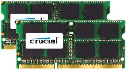 Crucial 16GB Kit SO-DIMM DDR3 PC3-12800 CL11 (CT2C8G3S160BMCEU)