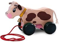 Walter (Nic Toys) Nachzieh-Kuh