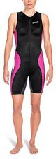 Skins TRI400 Women's Compression Sleeveless Front Zip Tri Suit