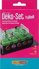 Dekoback Fußballfeld Tortendeko Set 10 tlg.