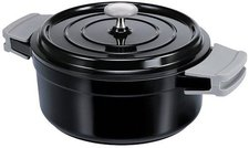 BEKA Cook'on Bräter Schwarz mit Deckel 20 cm