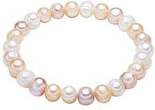 Valero Pearls Perlenarmband weiß apricot flieder (446660)