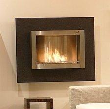 Super-Flamm Wandkamin WK-02-GNA Granit Nero Assoluto