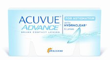 Johnson & Johnson Acuvue Advance for Astigmatism -4,50 (6 Stk.)