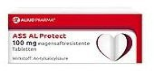 Aliud ASS Al Protect 100 mg magensaftres. Tabletten (50 Stk.)