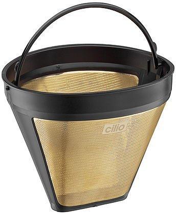 Cilio Kaffeefilter Größe 4, gold