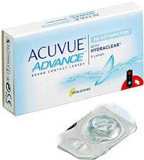 Johnson & Johnson Acuvue Advance for Astigmatism +/- 0,00 (6 Stk.)