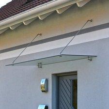 Home Deluxe Glasvordach (150x90 cm)