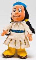 Joy Toy Yakari - Regenbogen Indianerin 20 cm