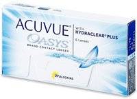 Johnson & Johnson Acuvue Oasys with Hydraclear Plus (6 Stk.) +8,00