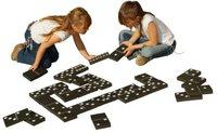 Traditional Garden Games Schwarz und Weiß Dominos