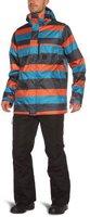 Burton Poacher Snowboard Jacket Bombay Servus Stripe