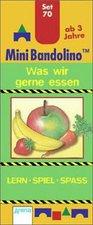 Arena Verlag Mini-Bandolino Set 70: Was wir gerne essen