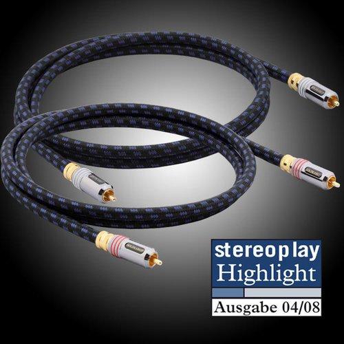 Goldkabel Highline Cinch Stereo (2,5m)