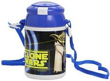 Joy Toy Yoda Pop-Up Trinkflasche
