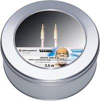 Oehlbach 10780 Crystal Wire B40 - 2 x 4mm² (2,5m)