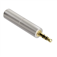 Hama 80866 AluLine 2,5mm Klinken-Adapter