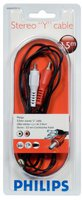 Philips SWA 2527W/10 Stereo Y-Kabel (1,5m)