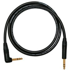 Van Damme Gitarren-Kabel - konfektioniert mit Neutrik-St. (10m)