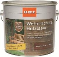 Obi Wetterschutz-Holzlasur 2 in 1 wv 4 l