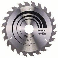 Bosch Optiline Wood Kreissägeblatt 184 x 30 x 2,6 mm WZ 24 (2 608 640 610)