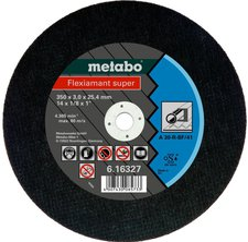 Metabo Flexiamant Super Stahl A 30-R 350 x 3 x 25,4 mm (6.16339.00)