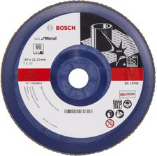 Bosch Blue Metal-top Ø 180 mm Korn 60, gerade, Kunststoff (2 608 607 343)