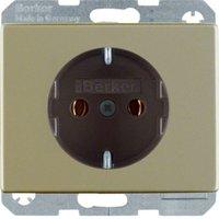 Berker Schuko-Steckdose, hellbronze 41140001