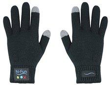 hi-Fun Hi-Call Bluetooth-Handschuhe für Smartphones (Damen, schwarz)