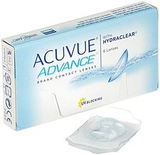 Johnson & Johnson Acuvue Advance with Hydraclear -0,50 (6 Stk.)