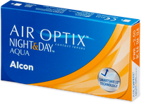 Ciba Vision Air Optix Aqua Night & Day (6 Stk.) +6,00