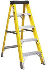 Sealey Fiberglas Step Ladder 4 Stufen