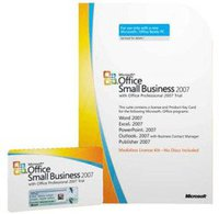 Microsoft Office 2007 Small Business Edition (DE) (Win) (MLK/OEM) (1 User)