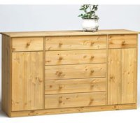 Steens Furniture Ltd Mario 031/19 Sideboard natur lackiert 2 Türen 2+5 Schubladen