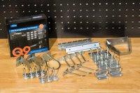 Güde Werkzeughalter Sortiment 28-teilig - Haken für Lochwand