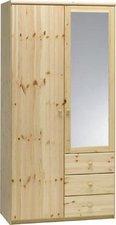 Steens Furniture Ltd Steens Kleiderschrank Andi 2-türig mit 3 Schubkästen
