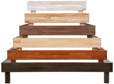 Hasena Wood-Line Classic 16 Bettrahmen (180 x 200 cm)