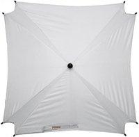 Fillikid Sonnenschirm quadratisch XL silber-weiß