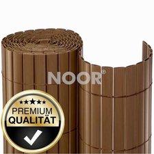 Noor Sichtschutzmatte PVC braun 180 x 300 cm