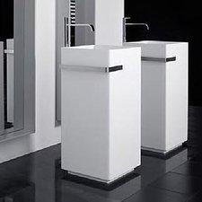 Antonio Lupi Kubic Stand-Waschbecken 40 x 40 x 85 cm