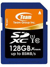 Team Group SDHX Xtreem 128GB Class 10 UHS-I (TSDXC128GU8501)