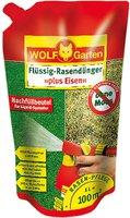Wolf-Garten Flüssig-Rasendünger LM 100 R plus Eisenchelat, Nachfüll-Pack
