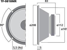 Celestion TRUVOX-0818MR
