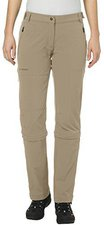 Vaude Women's Farley Stretch 3/4 T-Zip Pants